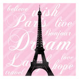 Paris Dream 3 Print by Lauren Gibbons