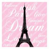 Paris Dream 3 Print by Lauren Gibbons