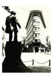 Vancouver Flatiron Poster by Sandro De Carvalho