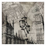 London Clock Art by Jace Grey