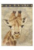 Giraffe Pósters por Jace Grey