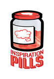 Inspiration Pills Posters by Enrique Rodriquez Jr.