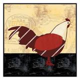A Red Hen Affiches par Lauren Gibbons