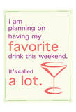 Favorite Drink Posters by Lauren Gibbons