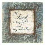 Psalm 27:1 Print by Jace Grey
