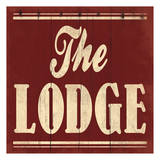 The Lodge Poster by Jace Grey