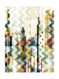 Urban Chevron I Prints by  Vision Studio