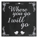 Where Go 5 Print by Lauren Gibbons