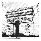 Paris Arch Posters by Jace Grey