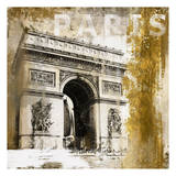 Parise Arc De Triomphe Prints by Cynthia Alvarez