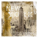 NY Empire Print by Cynthia Alvarez