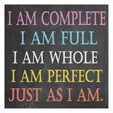 I Am Complete Prints by Jean Olivia
