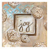 Joy Flowers Prints by Erin Butson