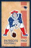NEW ENGLAND PATRIOTS - RETRO LOGO 14 Poster