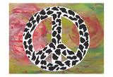 Safari Peace Leopard Art by Beverly Dyer