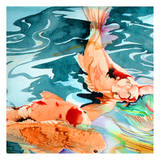 Koi Pond 2 Prints by Anne Ormsby