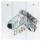 Happy Zebra Posters by Erin Butson