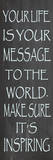 Message to The World Posters by Jean Olivia