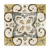 Non-Embellished Batik Square VI Posters by Chariklia Zarris
