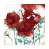 Flower Expression I Posters by Jennifer Goldberger