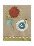 Petal Patterns V Prints by Erica J. Vess