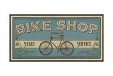 Bike Shop I Print by Erica J. Vess