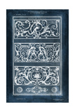 Ornamental Iron Blueprint II Prints by  Vision Studio
