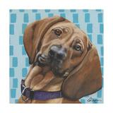 Dlynn's Dogs - Dali Print by Dlynn Roll