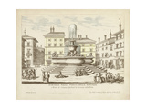 Fountains of Rome II Prints by  Vision Studio