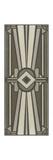 Neutral Deco Panel II Kunstdrucke von Erica J. Vess