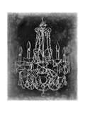 Chalkboard Chandelier Sketch III Prints by Ethan Harper