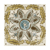 Non-Embellished Batik Square IV Poster by Chariklia Zarris