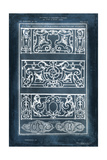 Ornamental Iron Blueprint I Poster by  Vision Studio