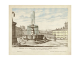 Fountains of Rome V Prints by  Vision Studio