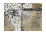 Collage Fleur I Prints by Jennifer Goldberger