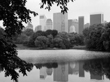 NYC Skyline X Photographic Print by Jeff Pica