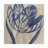 Indigo Tulip Prints by Chariklia Zarris