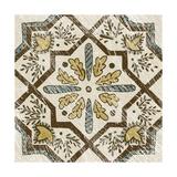Non-Embellished Batik Square V Print by Chariklia Zarris