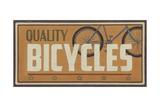 Bike Shop III Posters by Erica J. Vess