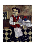 French Waiter IV Prints by Holly Wojahn