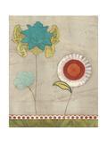 Petal Patterns I Prints by Erica J. Vess