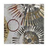 Outburst Tiles II Premium Giclee Print by James Burghardt