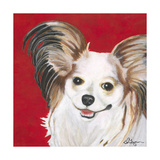 Dlynn's Dogs - Lilly Poster by Dlynn Roll