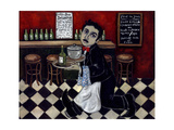 French Waiter I Print by Holly Wojahn