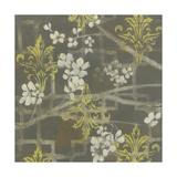 Patterned Blossom Branch I Art by Jennifer Goldberger