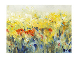 Flowers Sway II Print by Tim O'toole