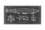 Ethan Harper - Airship Blueprint - Reprodüksiyon