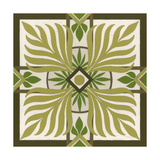 Non-Embellished Palm Motif II Giclée-Premiumdruck von Erica J. Vess