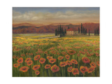Poppy Path to Home I Premium Giclee Print by Julie Joy