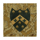 Noble Crest IV Print by  Vision Studio